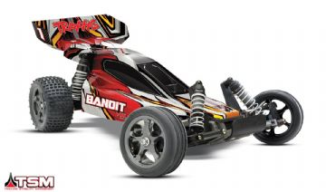 TRX-24076-3 Traxxas Bandit VXL Brushless TSM Buggy 2.4 GHz RTR Red